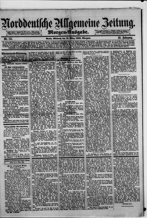 Norddeutsche allgemeine Zeitung vom 31.03.1886
