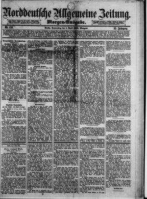 Norddeutsche allgemeine Zeitung vom 01.04.1886