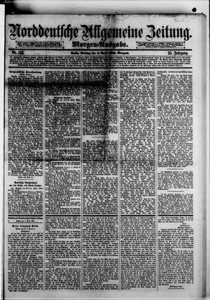 Norddeutsche allgemeine Zeitung vom 04.04.1886