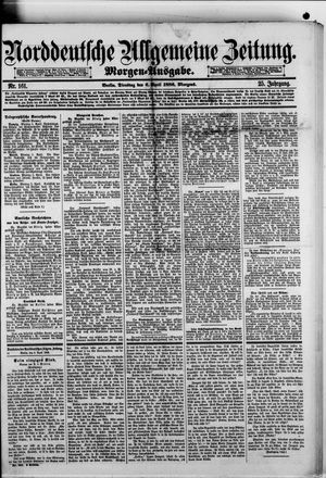 Norddeutsche allgemeine Zeitung vom 06.04.1886