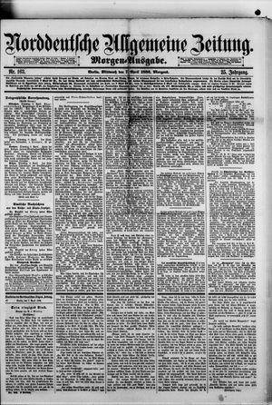Norddeutsche allgemeine Zeitung vom 07.04.1886