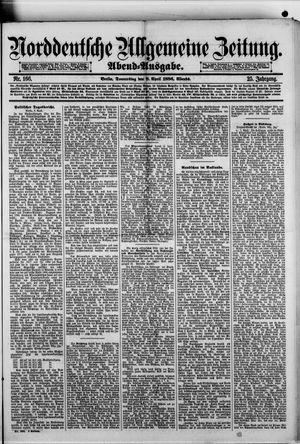 Norddeutsche allgemeine Zeitung vom 08.04.1886