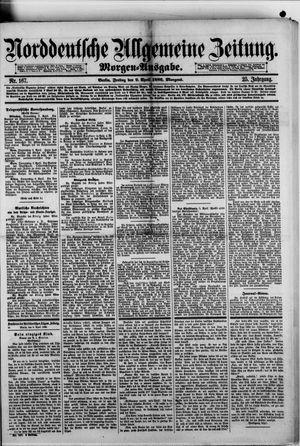 Norddeutsche allgemeine Zeitung vom 09.04.1886