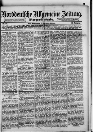 Norddeutsche allgemeine Zeitung vom 17.04.1886