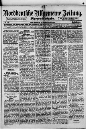 Norddeutsche allgemeine Zeitung vom 23.04.1886