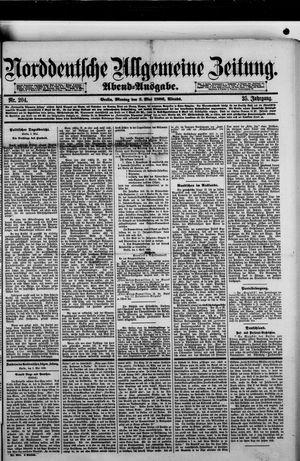 Norddeutsche allgemeine Zeitung vom 03.05.1886
