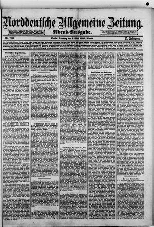 Norddeutsche allgemeine Zeitung vom 04.05.1886