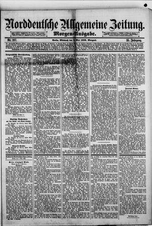 Norddeutsche allgemeine Zeitung vom 05.05.1886