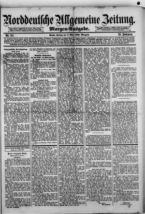 Norddeutsche allgemeine Zeitung vom 07.05.1886