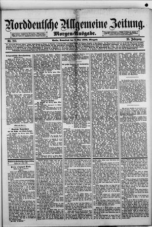 Norddeutsche allgemeine Zeitung vom 08.05.1886