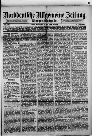 Norddeutsche allgemeine Zeitung vom 11.05.1886