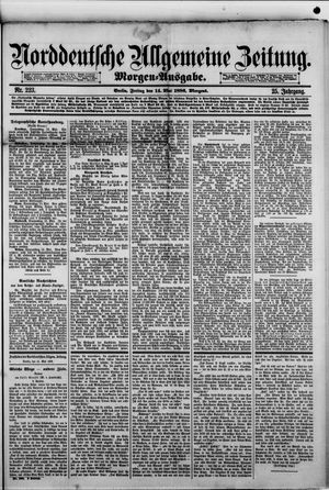 Norddeutsche allgemeine Zeitung vom 14.05.1886