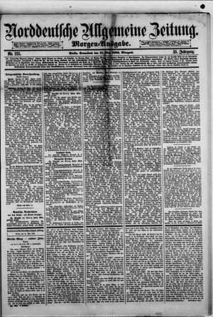 Norddeutsche allgemeine Zeitung vom 15.05.1886