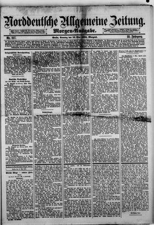 Norddeutsche allgemeine Zeitung vom 16.05.1886