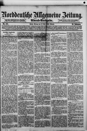 Norddeutsche allgemeine Zeitung vom 17.05.1886