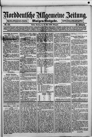 Norddeutsche allgemeine Zeitung vom 18.05.1886