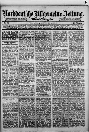 Norddeutsche allgemeine Zeitung vom 20.05.1886