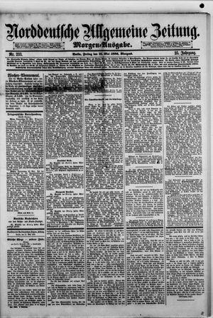 Norddeutsche allgemeine Zeitung vom 21.05.1886