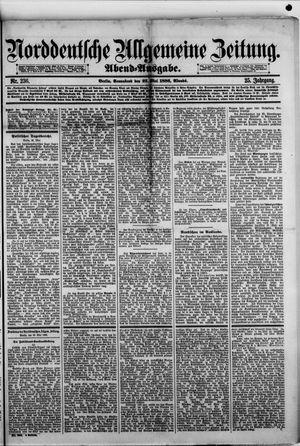 Norddeutsche allgemeine Zeitung on May 22, 1886