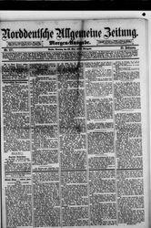 Norddeutsche allgemeine Zeitung (23.05.1886)
