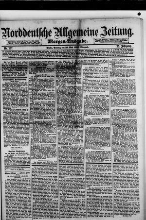 Norddeutsche allgemeine Zeitung vom 23.05.1886