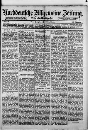 Norddeutsche allgemeine Zeitung vom 04.06.1886