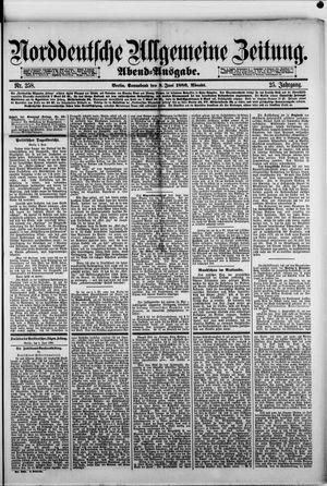 Norddeutsche allgemeine Zeitung vom 05.06.1886