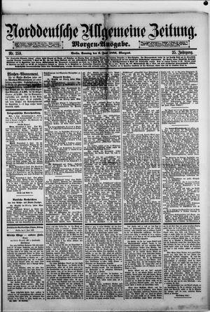 Norddeutsche allgemeine Zeitung vom 06.06.1886