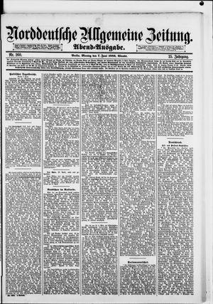Norddeutsche allgemeine Zeitung vom 07.06.1886