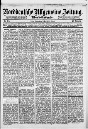 Norddeutsche allgemeine Zeitung vom 09.06.1886