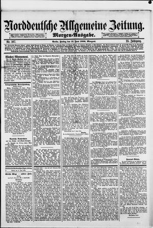 Norddeutsche allgemeine Zeitung vom 11.06.1886