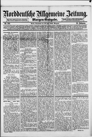 Norddeutsche allgemeine Zeitung vom 12.06.1886
