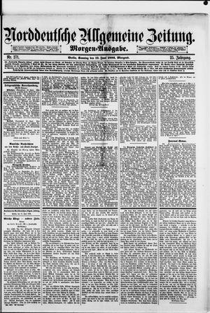 Norddeutsche allgemeine Zeitung vom 13.06.1886