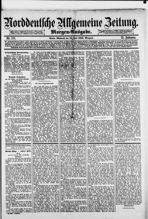 Norddeutsche allgemeine Zeitung vom 16.06.1886