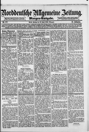 Norddeutsche allgemeine Zeitung vom 18.06.1886