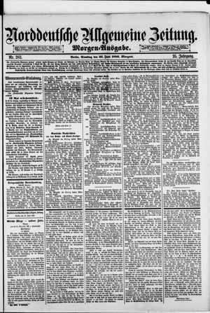 Norddeutsche allgemeine Zeitung vom 22.06.1886