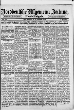 Norddeutsche allgemeine Zeitung vom 24.06.1886