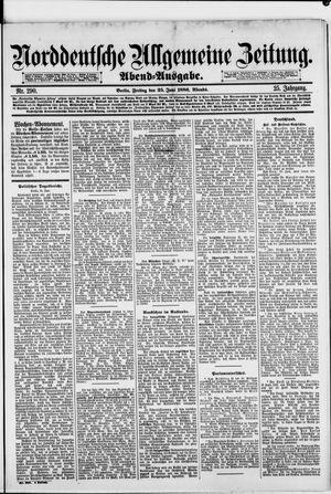 Norddeutsche allgemeine Zeitung vom 25.06.1886