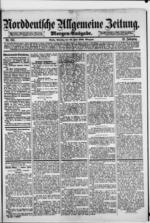 Norddeutsche allgemeine Zeitung vom 29.06.1886
