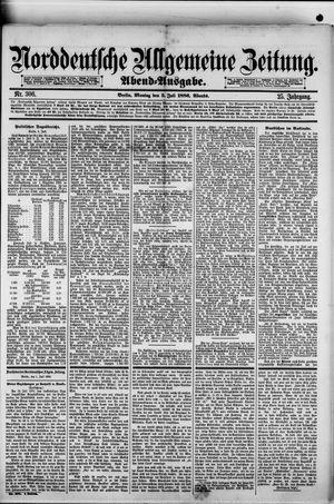 Norddeutsche allgemeine Zeitung vom 05.07.1886