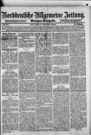 Norddeutsche allgemeine Zeitung vom 06.07.1886