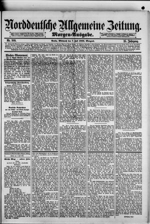 Norddeutsche allgemeine Zeitung vom 07.07.1886