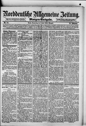 Norddeutsche allgemeine Zeitung vom 08.07.1886