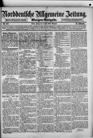 Norddeutsche allgemeine Zeitung vom 09.07.1886