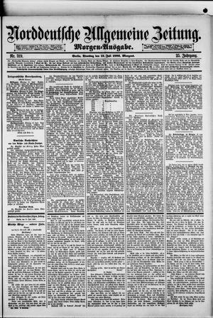 Norddeutsche allgemeine Zeitung vom 13.07.1886