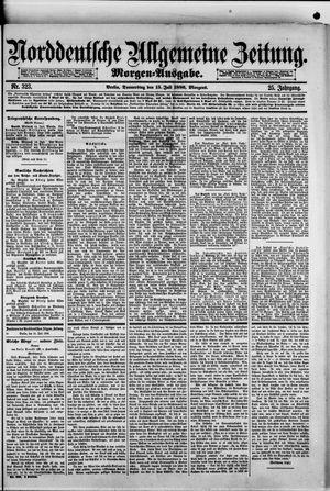 Norddeutsche allgemeine Zeitung vom 15.07.1886