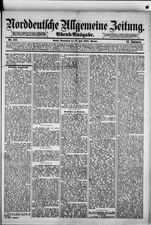 Norddeutsche allgemeine Zeitung vom 17.07.1886