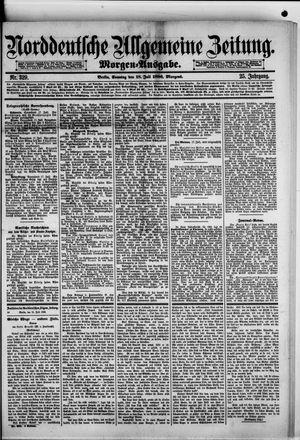 Norddeutsche allgemeine Zeitung vom 18.07.1886
