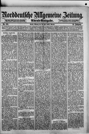 Norddeutsche allgemeine Zeitung vom 19.07.1886