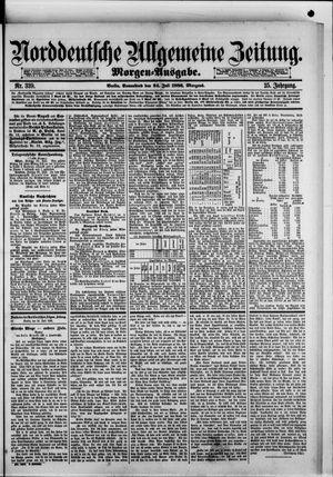 Norddeutsche allgemeine Zeitung vom 24.07.1886